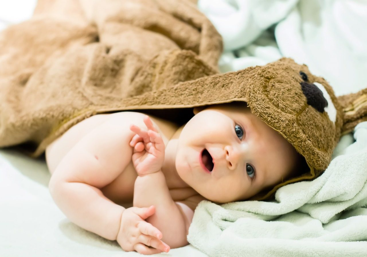 Sabonete para bebês